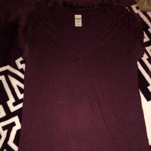Burgundy T-Shirt PINK